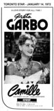 "TORONTO STAR AD FOR ""CAMILLE"" CREST THEATRE"