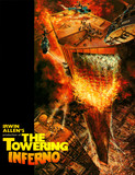 "MOVIE SOUVENIR PROGRAM ""THE TOWERING INFERNO"""
