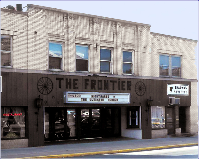 Kenton (Frontier) Theatre ... Kenton Ohio