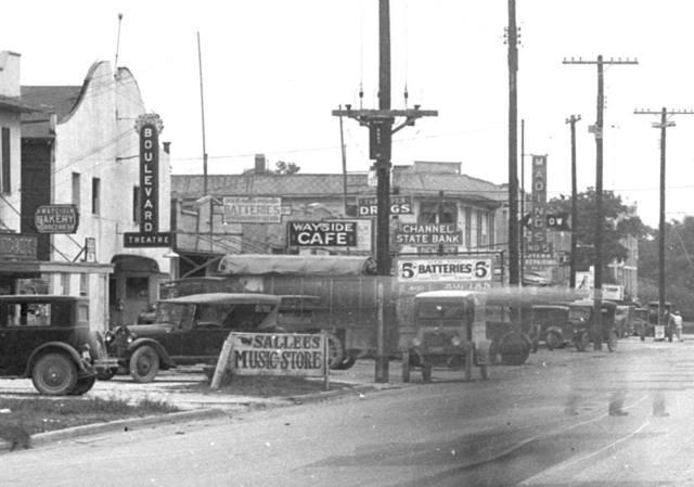 Boulevard Theatre  circa 1920