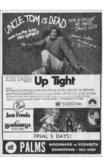 "DETROIT FREE PRESS AD FOR ""UP TIGHT & BARBARELLA"" - PALMS THEATRE"