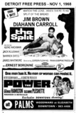 "AD FOR ""THE POWER & THE SPLIT"" PALMS THEATRE"
