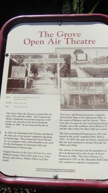 Grove Open Air Theatre