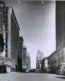 View north on 6th Avenue with Loews Ziegfield at left.