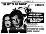 "AD FOR ""THE SPY WHO LOVED ME"" GOLDEN MILE AND OTHER THEATRES"
