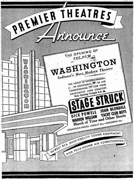 November 24th, 1936 grand opening ad
