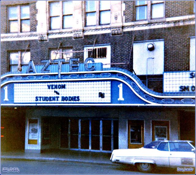 Aztec Theatre ... San Antonio Texas