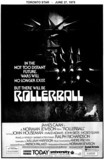 "AD FOR ""ROLLERBALL"" UNIVERSITY THEATRE"