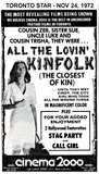 "AD FOR""ALL THE LOVIN' KINFOLK"" CINEMA 2000"