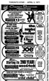 AD FOR UPTOWN 5 THEATRES AND OTHERS