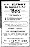 August 2nd, 1935 grand opening ad