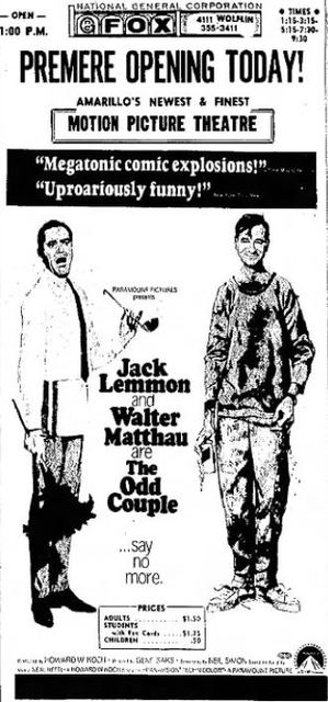 July 31st, 1968 grand opening ad