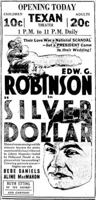 August 11th, 1933 grand opening ad