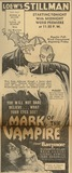 <p>1935 AD for MARK OF THE VAMPIRE Premiere.</p>