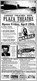 April 25th, 1947 grand opening ad