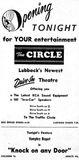 November 29th, 1949 grand opening ad