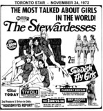 "AD FOR ""THE STEWARDESSES"" TIVOLI THEATRE (NEW YORKER)"