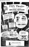 July 2nd, 1968 grand opening ad