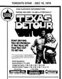 "AD FOR ""TEXAS DETOUR"" SHERIDAN (NORTH YORK) THEATRE"