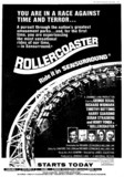 """TORONTO STAR AD FOR """"ROLLERCOASTER"""" ODEON (OSHAWA) AND OTHER THEATRES"""