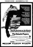 """AD FOR """"THE VALACHI PAPERS"""" PLAZA (OSHAWA) AND OTHER THEATRES"""