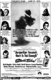 """AD FOR """"ONCE IS NOT ENOUGH"""" THE CINEMA AND OTHER THEATRES"""