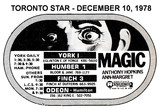 "AD FOR ""MAGIC"" HUMBER 1 AND OTHER THEATRES"