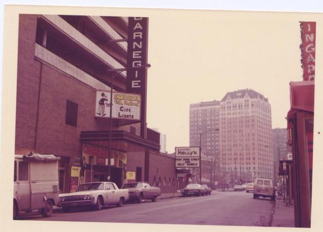 Carnegie Theatre Front 1972