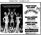 "AD FOR ""LET'S DO IT AGAIN"" UPTOWN 1 AND OTHER THEATRES"
