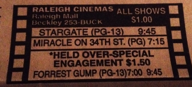 Raleigh Mall Cinemas 1 & 2