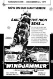 "AD FOR ""WINDJAMMER"" GLENDALE THEATRE"