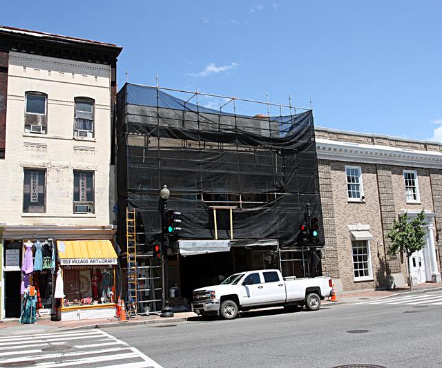 Georgetown theatre washington dc cinema treasures for Georgetown movie theater