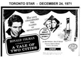 "AD FOR ""A TALE OF TWO CITIES"" CREST THEATRE"