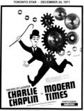 """AD FOR """"MODERN TIMES"""" EGLINTON THEATRE"""