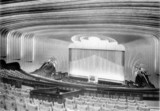<p>The original auditorium decorations, photographed by John Maltby at its opening in November 1937.</p>