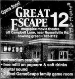 April 27th, 2001 grand opening ad