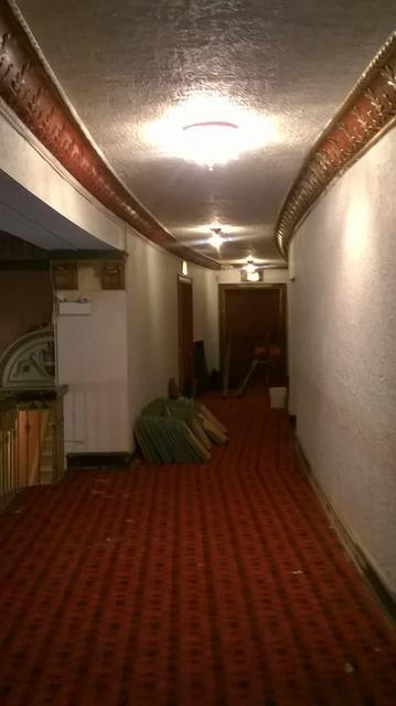 2nd floor (valcon) under remodeling...