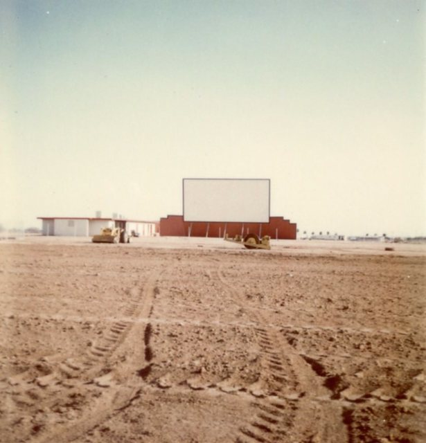 Velda Rose Drive-In Under Construction