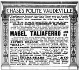 Opening as Chase's August 18th, 1912
