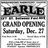 December 27th, 1924 grand opening ad as Earle