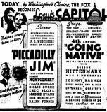 <p>August 14th, 1936 grand opening ad</p>
