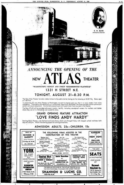 August 31st, 1931 grand opening ad