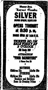 September 15th, 1938 grand opening ad
