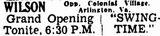 November 11th, 1936 grand opening ad
