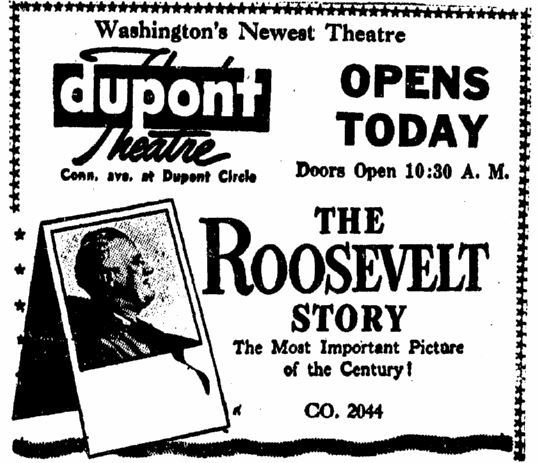March 19th, 1948 grand opening ad