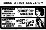 AD FOR MIDNIGHT SHOWINGS AT CINECITY