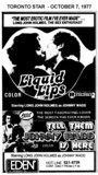 "AD FOR ""LIQUID LIPS & TELL THEM JOHNNY WADD IS HERE"" EDEN THEATRE"