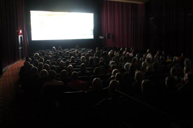 Odeon #2 during trailers