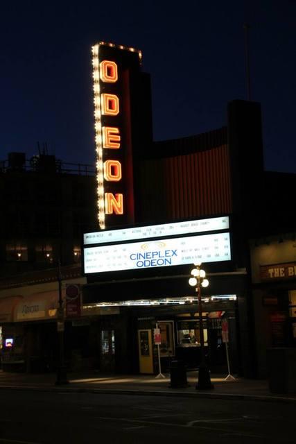 Odeon exterior