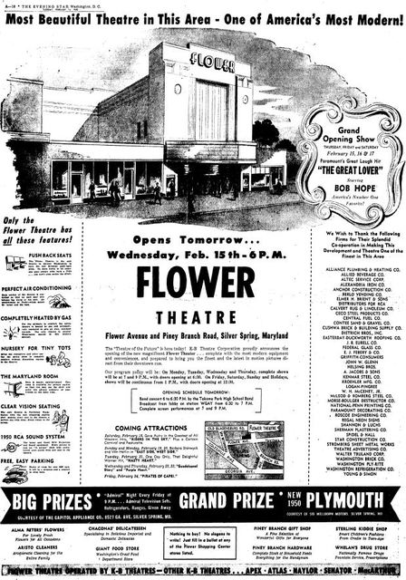 February 14th, 1950 grand opening ad